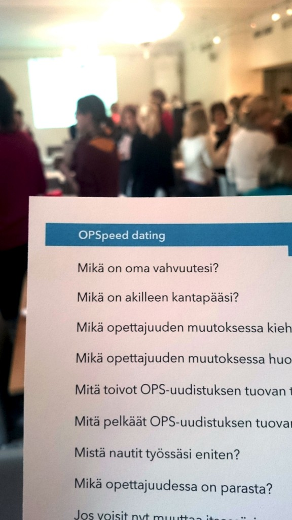 OPSpeed-dating