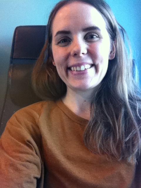Kuva on otettu junassa FLUSHin jälkeisenä aamuna - väsynyt ja onnellinen!